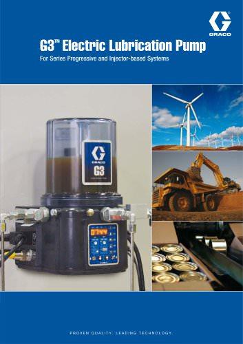 G3 Electric Lubrication Pump