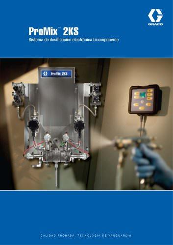 ProMix™ 2KS Sistema de dosificación electrónica bicomponente
