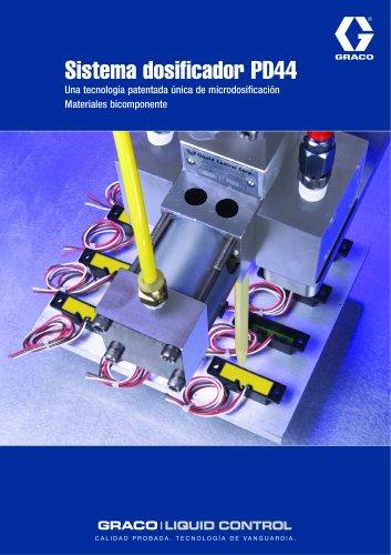 Sistema dosificador PD44