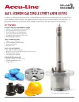 Accu-Line EASY, ECONOMICAL SINGLE CAVITY VALVE GATING