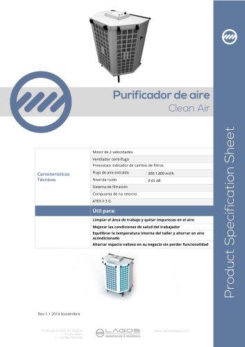 Clean Air. Purificador de aire