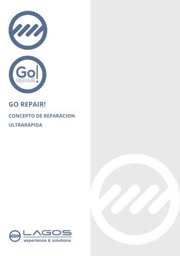 Go Repair!. Concepto de reparación ultrarápido