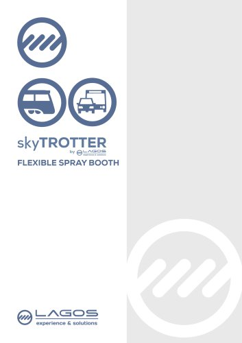 skyTROTTER. Mobile industrial spray booth