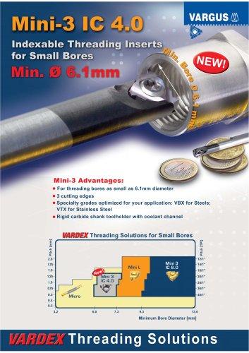 Mini 3 IC 4.0 Thread Turning Flyer
