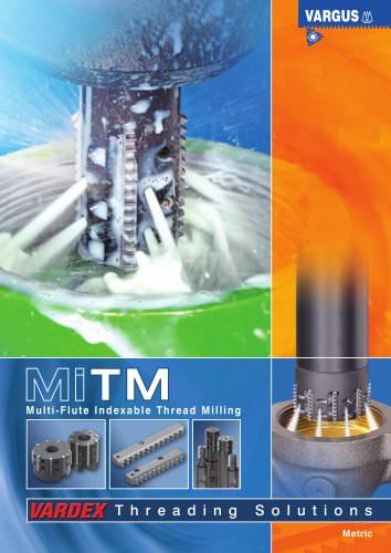 MiTM - Multiflute Flute Indexable Thread Mill