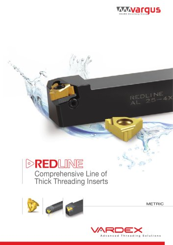 RedLine Thick Thread Turning Inserts