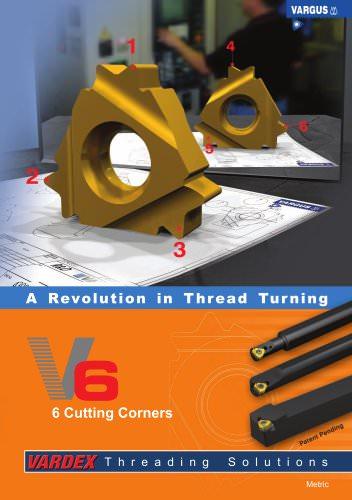 V6 - The 6-corner Thread Turning Insert (139EE)
