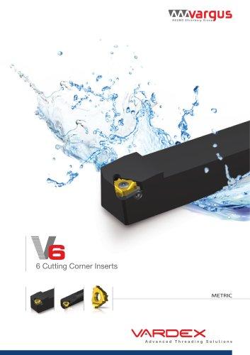 V6 - The 6-corner Thread Turning Insert