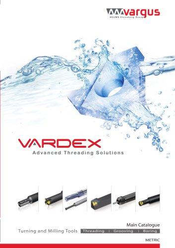 Vardex Thread Milling & Thread Turning Main Catalog