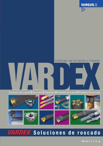 Vardex Thread Milling & Thread Turning Main Catalog Spanish 050SP
