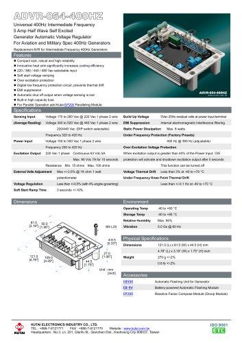 ADVR-054-400HZ