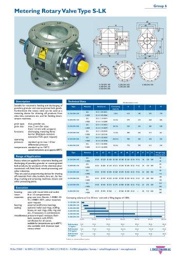 Brochure Rotary Valves
