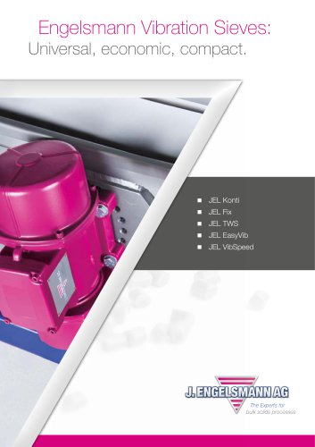 Brochure Vibration Sieves