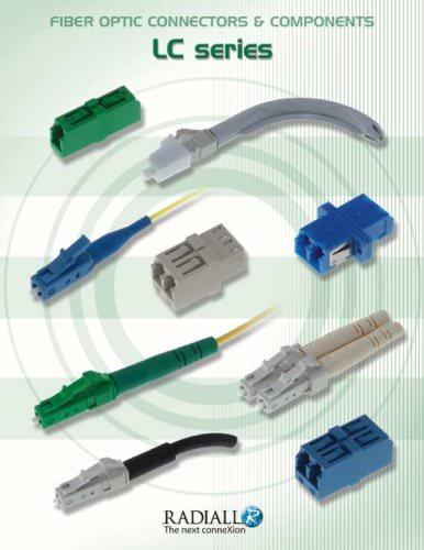 Fiber Optic Connectors & Cable Assemblies LC Series