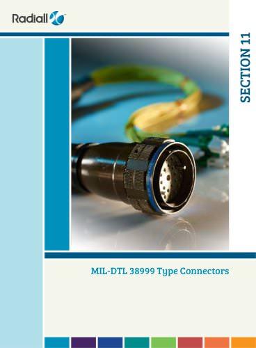 MIL-DTL 38999 Type Connectors
