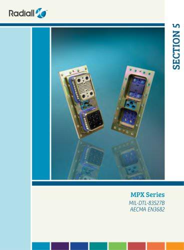 MPX Series (MIL-DTL-83527B & EN3682)