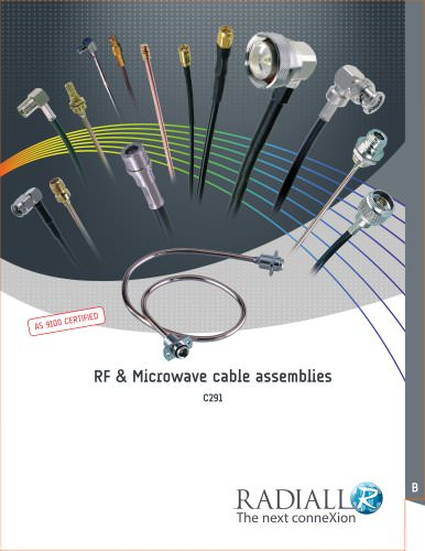 RF & Microwave Cable Assemblies new edition (RG, ECO, Semi-rigid, Corrugated...)