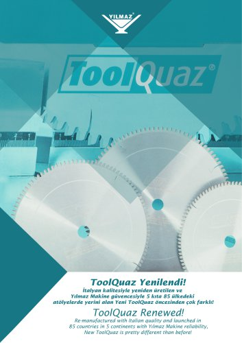 Toolquaz industrial saw blade