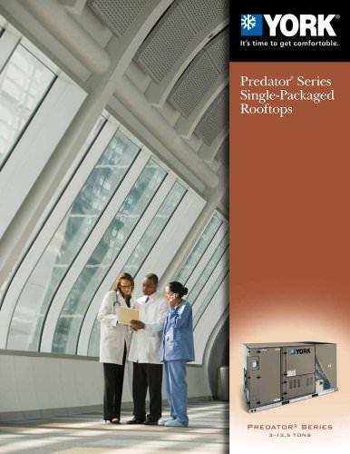Predator® Series 3-12.5 Ton Single Package Rooftop Units
