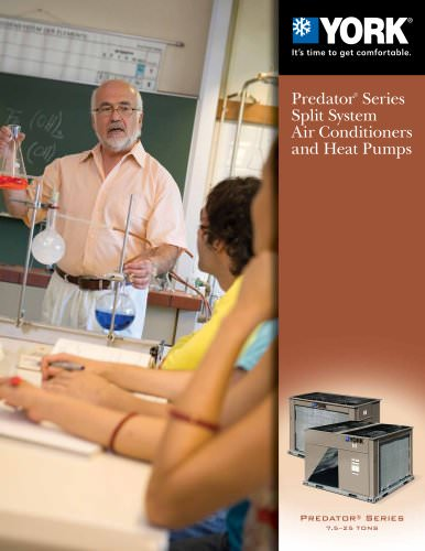 Predator® Series 7.5 - 25 Ton Split System Air Conditioners and Heat Pump Units (11.2 to 10.6 EER)