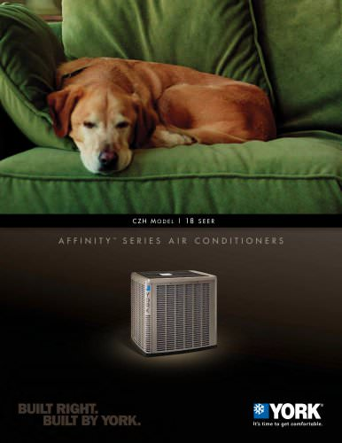 York® Affinity? CZH Air Conditioner