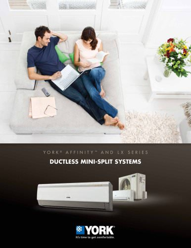 York® Affinity? Mini-Split Air Conditioners