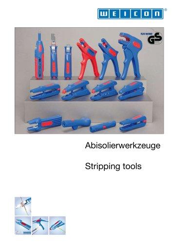 Stripping tools / Abisolierwerkzeuge