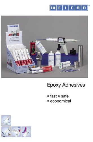 Weicon epoxy adhesives