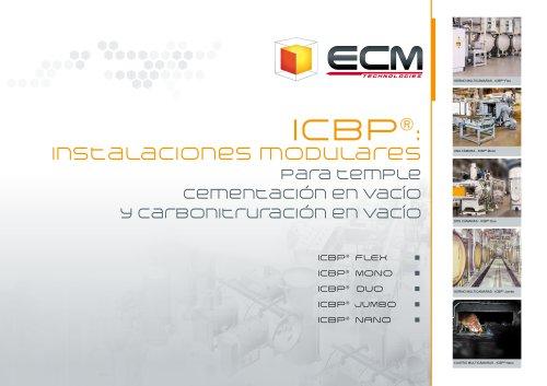 ICBP®: Instalaciones modulares para temple cementación en vacío y carbonitruración en vacío