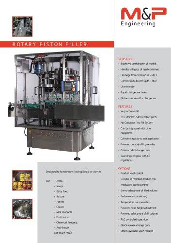 Rotary Piston Filler