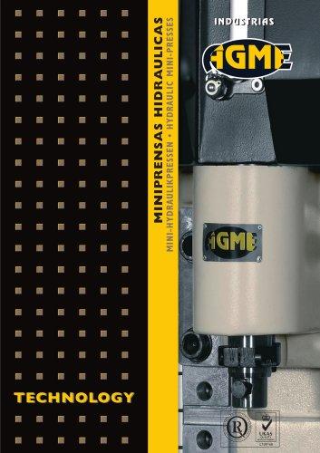 AGME Hydraulic Mini-presses