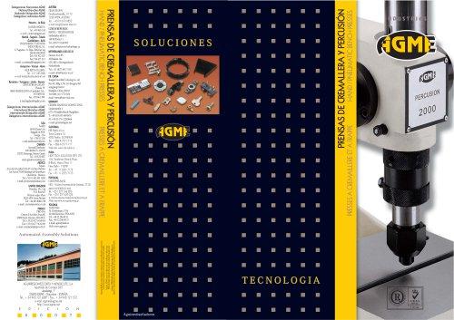 Prensas de cremallera y percusión