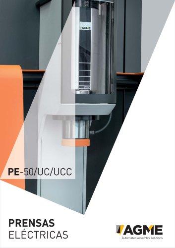 Prensas eléctricas / servo prensas AGME