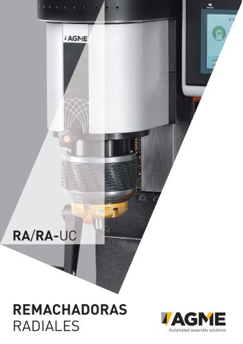 Remachadoras radiales RA AGME