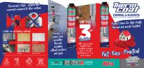 Thermcoat Thermal & Acoustic Insulation Pu Spray Foam