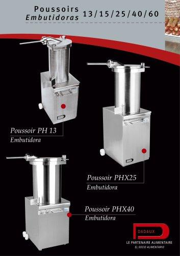 PH13 - PHX15 - PHX25 PHX40 - PHX60