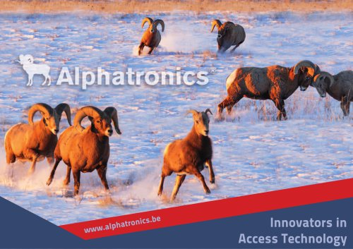Catalog Alphatronics
