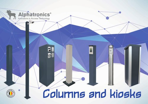 Columns and kiosks