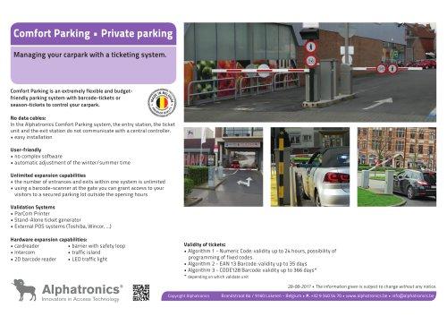 Private Parking - Comfort Parking