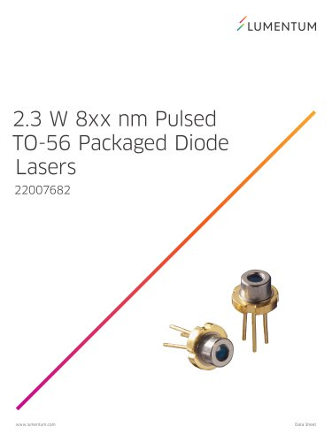 2.3 W 8xx nm Pulsed TO-56 Packaged Diode Laser