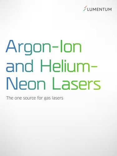 Argon-Ion and Helium-Neon Lasers
