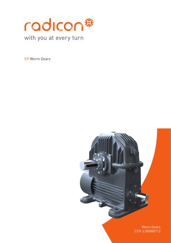 Heavy Duty Worm Gear Series ER