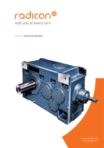 Series H industrial gearboxes
