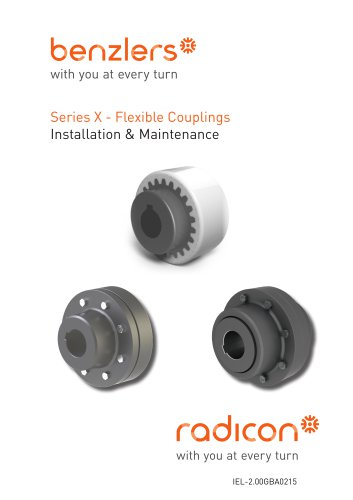 Series X Flexible Couplings