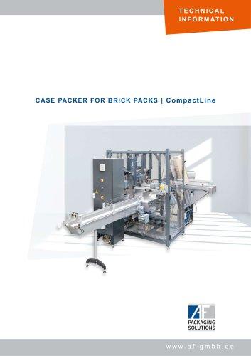 CASE PACKER FOR BRICK PACKS   CompactLine
