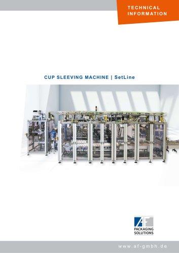 CUP SLEEVING MACHINE   SetLine