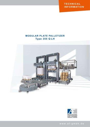 MODULAR PLATE PALLETIZER Type 355 Q LH