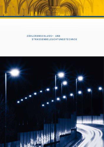 Metering- and street lighting technic