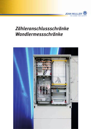 Metering cabinets