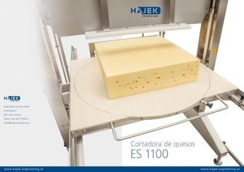 Cortadora de quesos ES 1100